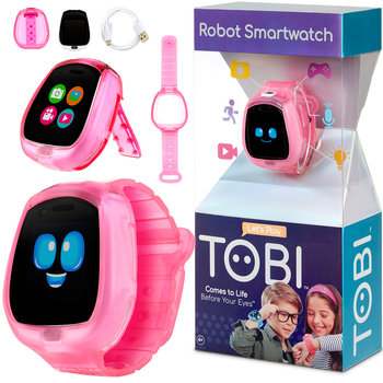 Little Tikes, zegarek Robot Tobi Smartwatch, różowy-Little Tikes