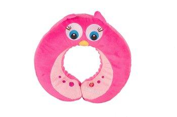 LITTLELIFE, Zagłówek, Animal Snooze Pillow Owl, różowy-LittleLife