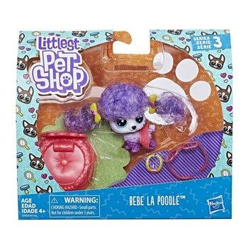 Littlest Pet Shop, figurka Bebe La Poodle, E2161/E2426-Littlest Pet Shop