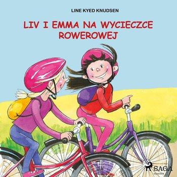 Liv i Emma na wycieczce rowerowej-Knudsen Line Kyed