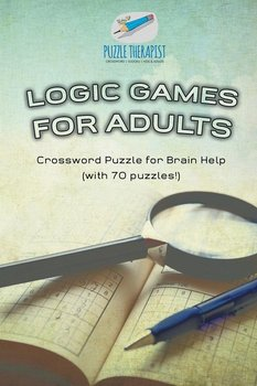 Logic Games for Adults | Crossword Puzzle for Brain Help (with 70 puzzles!)-Puzzle Therapist