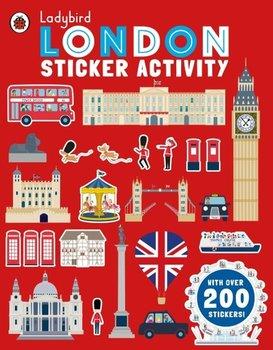 London. Sticker Activity-Opracowanie zbiorowe