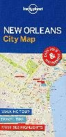Lonely Planet New Orleans City Map - Lonely Planet