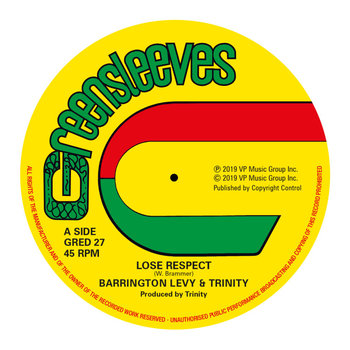 Lose Respect / Since You're Gone - Barrington Levy, Roman Stewart & Trinity