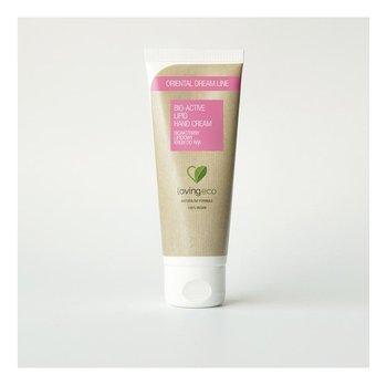 Lovingeco, Oriental Dream Line, bioaktywny lipidowy krem do rąk, 75 ml-Lovingeco