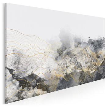 Lśnienie - nowoczesny obraz na płótnie - 120x80 cm-VAKU-DSGN Nowoczesne obrazy