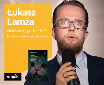 Łukasz Lamża | Empik Junior / czytelnia