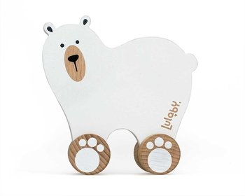 Lulaby, miś Polarny do ciągnięcia Puppil-Lulaby