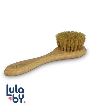 Lulaby, Szczotka z naturalnego włosia, Smiley Maker, średnio twarda-Lulaby