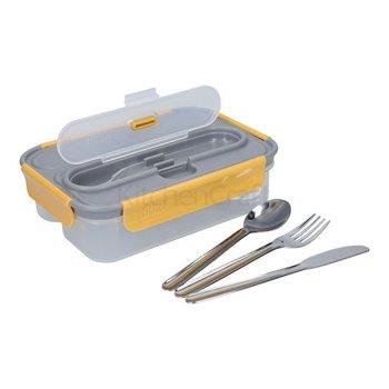 Lunch box ze sztućcami PPD Built Stylist, 6,5x17x23,5 cm-PPD