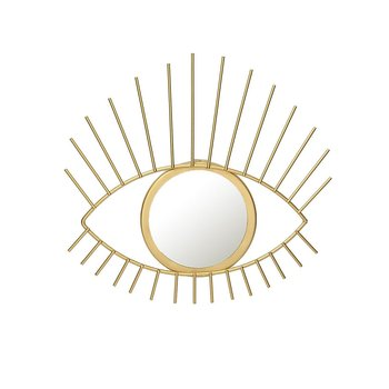 Lusterko Gold Eye, 31 x 3 x 27,5 cm-Dekoria