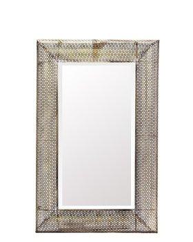 Lustro W Dekoracyjnej Złotej Ramie 107x70 cm-Pigmejka