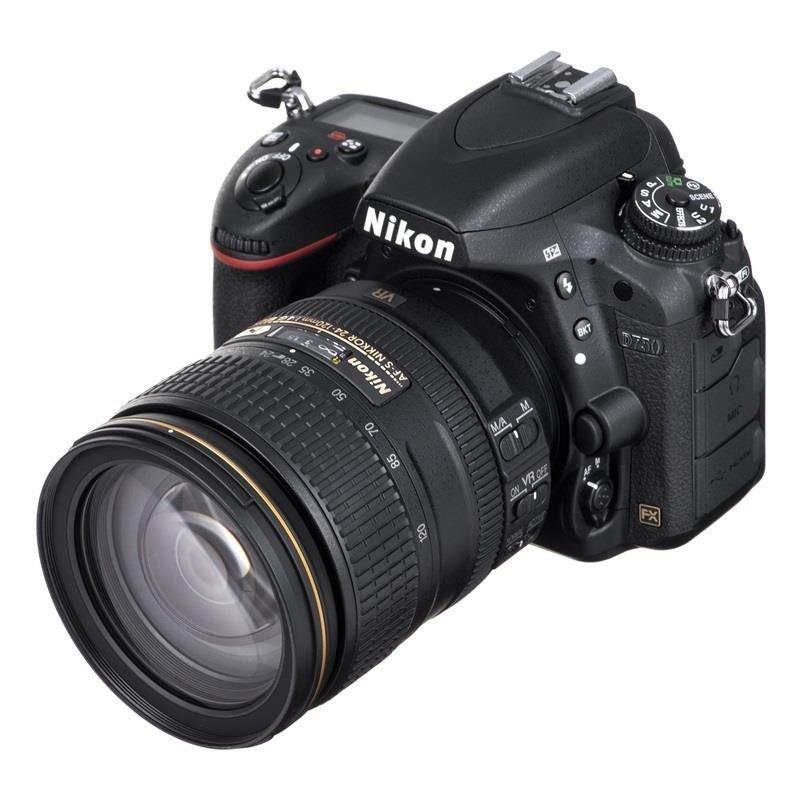 Lustrzanka NIKON D750 + obiektyw Nikon AF-S 24-120 mm f/4G ED VR