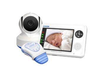 Luvion Premium Babyproducts, Luvion Essential Plus, Elektroniczna niania z monitorem oddechu Snuza Hero Md-Luvion Premium Babyproducts
