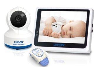 Luvion Premium Babyproducts, Luvion Grand Elite 3 Connect/Snuza Hero MD, Elektroniczna niania z kamerą i monitorem oddechu