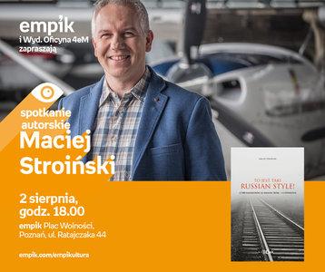 Maciej Stroiński | Empik Plac Wolności