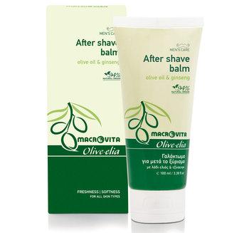 MACROVITA OLIVE-ELIA balsam po goleniu z bio-oliwą i żeńszeniem 100ml-Macrovita