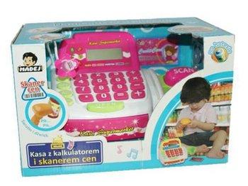 Madej, kasa sklepowa z kalkulatorem