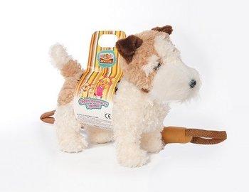 Madej, maskotka pies chodzący na smyczy-Madej