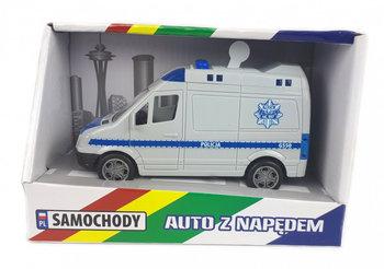 Madej, pojazd ratunkowy Policja BUS