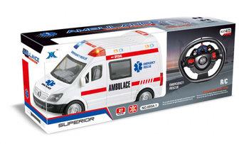 Madej, pojazd ratunkowy sterowany na pilot Ambulans R/C-Madej