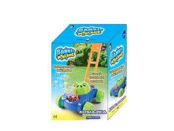 Madej, zabawka edukacyjna Kosiarka na bańki mydlane-Madej