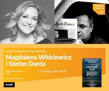 Magdalena Witkiewicz, Stefan Darda | Empik Manufaktura