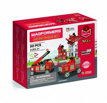 Magformers, klocki konstrukcyjne Zestaw ratunkowy-Magformers