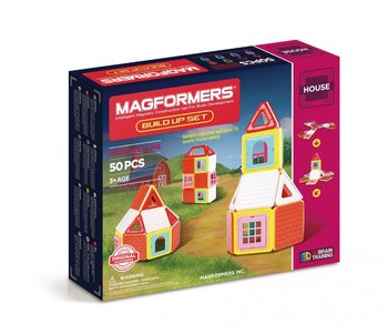 Magformers, klocki magnetyczne Build Up - Magformers