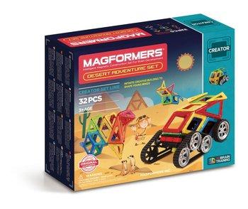Magformers, klocki magnetyczne, Desert Adventure-Magformers