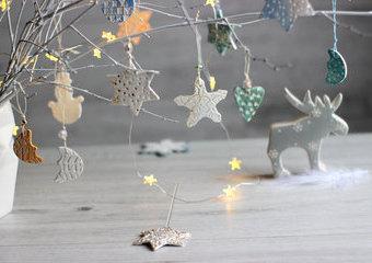 Magia lekkości, czyli jak stworzyć świąteczną dekorację z fimo-air