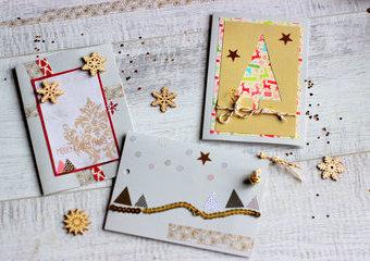 Magia świątecznych kartek, czyli kilka sposobów, by życzenia nabrały mocy.