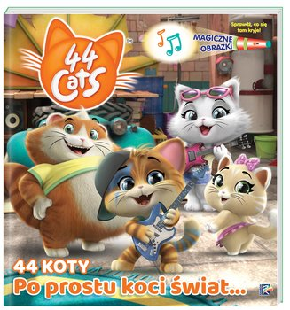 Magiczne obrazki. 44 koty. Po prostu koci świat…-Opracowanie zbiorowe