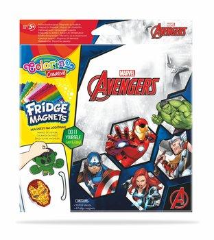 Magnes na lodówkę, Avengers, mix, 4 sztuki-Patio
