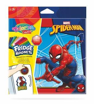Magnes na lodówkę, Spiderman, mix, 4 sztuki-Patio