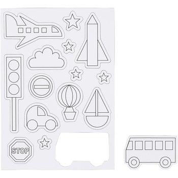 Magnesy do kolorowania, Transport-Creativ Company A/S