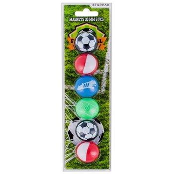 Magnesy, football, 6 sztuk-Starpak