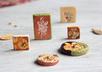 Magnesy w kolorach jesieni - wykonaj je z pasty modelarskiej JOVI