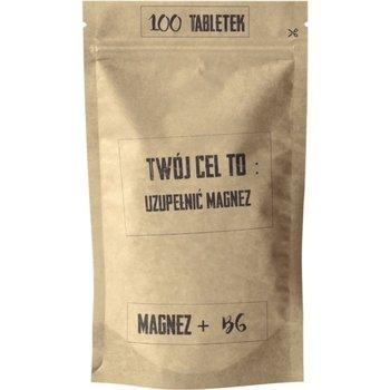 Magnez + B6 100 Tabletek Twój Cel To: Uzupełnić Magnez 96,7 g Simple Day-Simple Day