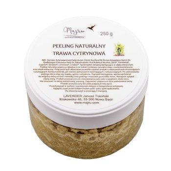 Majru, peeling naturalny trawa cytrynowa, 250 g-Majru