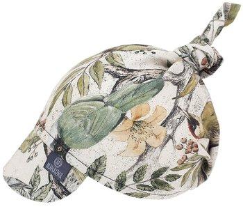 Makaszka Chustka Z Daszkiem 100% Bamboo Na Gumce Ornithology S-Makaszka