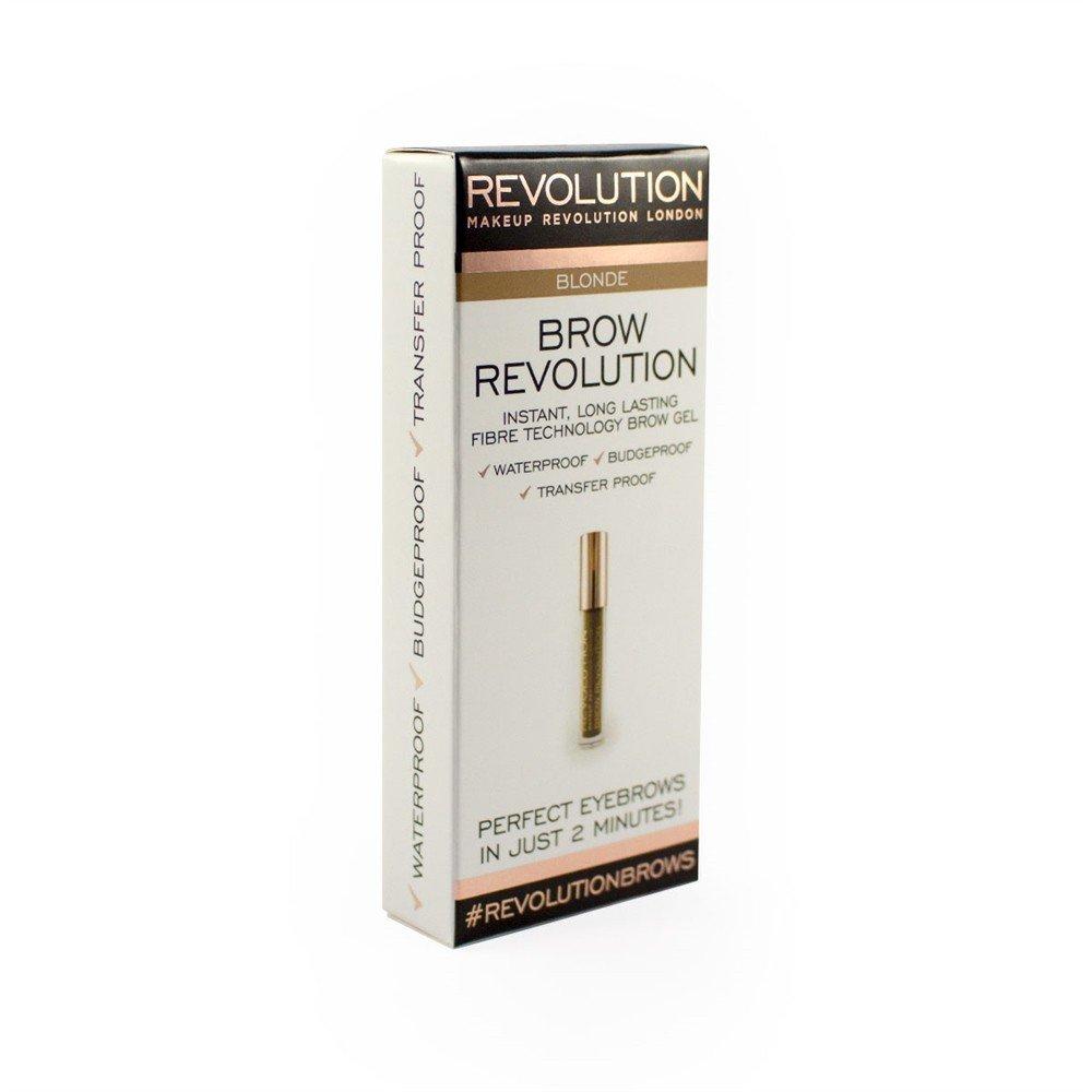 Makeup Revolution, Brow Revolution, żel do brwi Blonde, 3,8 g