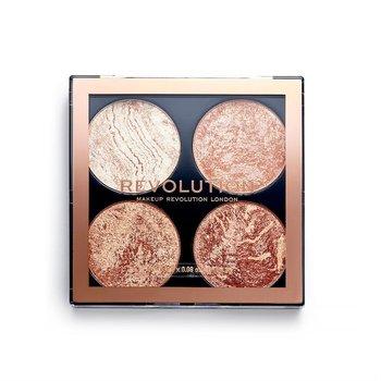 Makeup Revolution, Cheek Kit, paleta do konturowania Don't Hold Back, 4x2,2 g-Makeup Revolution