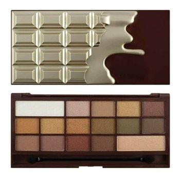 Makeup Revolution, Chocolate, paleta cieni do powiek Golden Bar-Makeup Revolution
