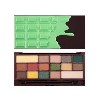 Makeup Revolution, Chocolate, paleta cieni do powiek Mint, 22 g-Makeup Revolution