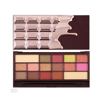 Makeup Revolution, Chocolate, paleta cieni do powiek Rose Gold, 22 g-Makeup Revolution