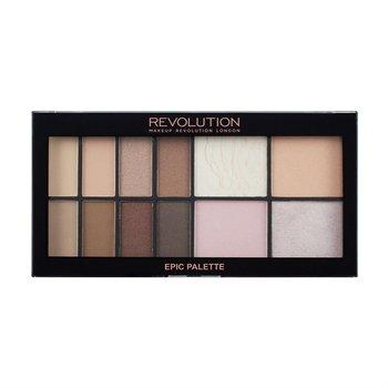 Makeup Revolution, Epic Day Palette, zestaw cieni i rozświetlaczy do makijażu, 20,5 g-Makeup Revolution