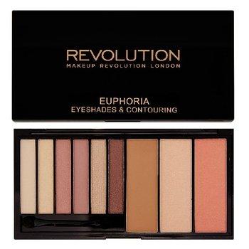 Makeup Revolution, Euphoria Palette Bare, zestaw do makijażu oczu i twarzy-Makeup Revolution