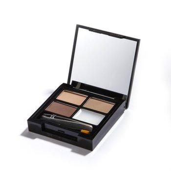 Makeup Revolution, Focus & Fix Brow, paleta cieni do brwi Light Medium, 5,8 g-Makeup Revolution