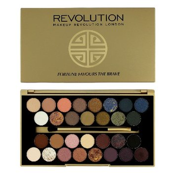 Nowość Makeup Revolution, Fortune Favours, paleta cieni do powiek The SL35